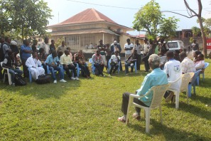 Goma Focus pre-SKIFF meeting in Goma at Yole!Africa (June 26th, 2014)